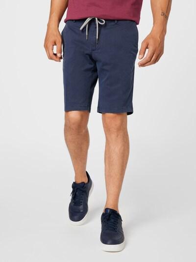 Pantaloni Hackett London di colore navy: Vista frontale