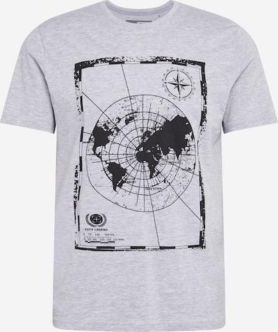 !Solid Skjorte 'Math' i grå: Frontvisning