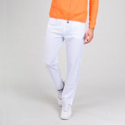 BIDI BADU Trainingshose Flinn Tech mit Kordelzug in weiß, Modelansicht