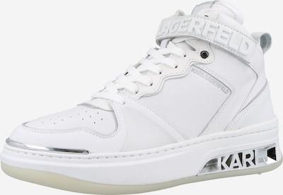 Karl Lagerfeld Sneaker 'ELEKTRA' in silber / weiß, Produktansicht