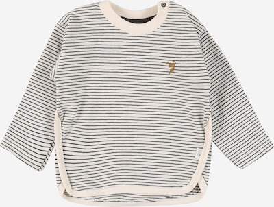 Sanetta Pure Shirt in de kleur Mosterd / Donkergrijs / Wit, Productweergave