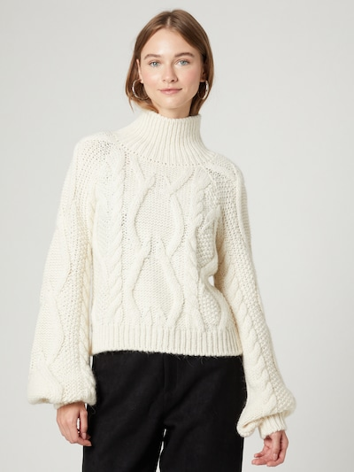 Guido Maria Kretschmer Collection Sweater 'Maike' in White, View model