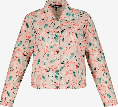 Ulla Popken Tussenjas in de kleur Gemengde kleuren / Rosa, Productweergave