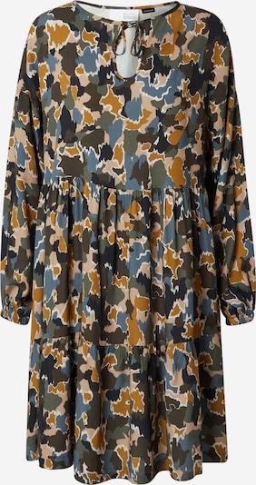 Rochie tip bluză 'Loris' mazine pe bej deschis / albastru fumuriu / galben muștar / verde închis / alb, Vizualizare produs