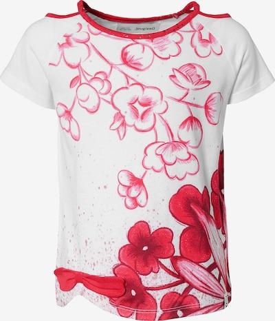 Desigual T-Shirt in rot / weiß, Produktansicht