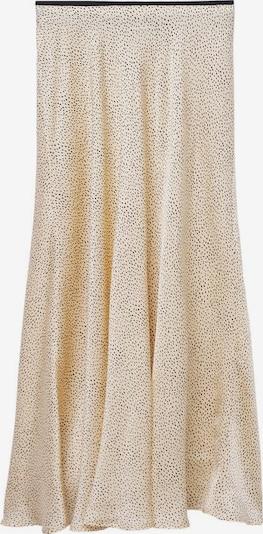 MANGO Rock 'Laura' in beige / schwarz, Produktansicht