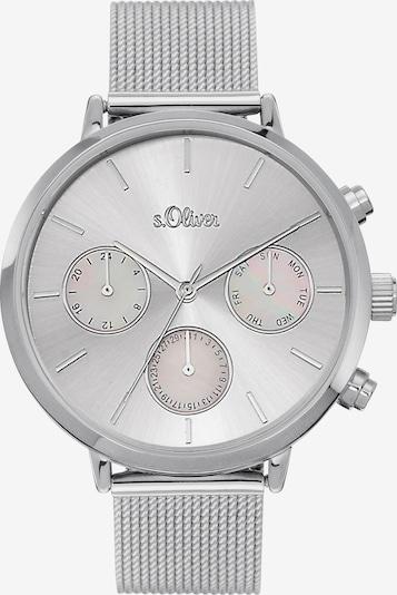 s.Oliver Uhr in silber, Produktansicht