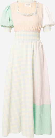 Cecilie Copenhagen Klänning 'Gia' i ljusblå / gul / ljusgrön / pastelllila / orange, Produktvy