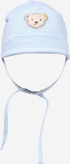 Steiff Collection Mütze in hellblau / hellbraun / weiß, Produktansicht