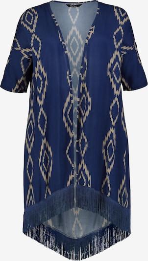Ulla Popken Bluse in beige / blau, Produktansicht
