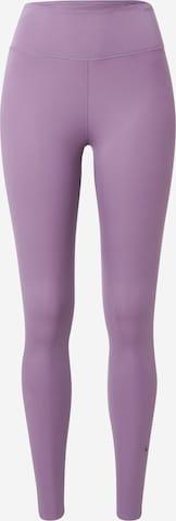 NIKE Спортен панталон 'One Luxe' в лилав