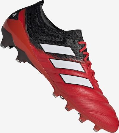 ADIDAS PERFORMANCE Fußballschuh in rot / schwarz / weiß, Produktansicht