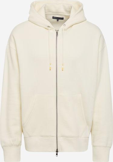 Giacca di felpa Levi's Made & Crafted di colore bianco lana, Visualizzazione prodotti