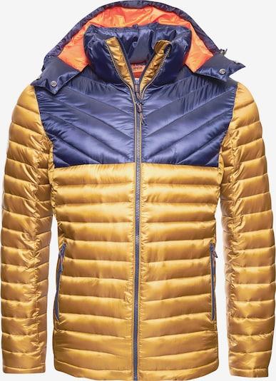 Superdry Jacke in blau / gelb, Produktansicht