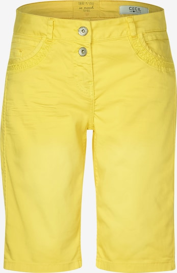 CECIL Shorts in gelb, Produktansicht