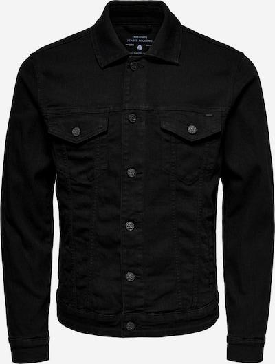 Only & Sons Tussenjas 'Coin' in de kleur Zwart, Productweergave