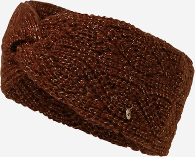 chillouts Stirnband in braun / gold, Produktansicht