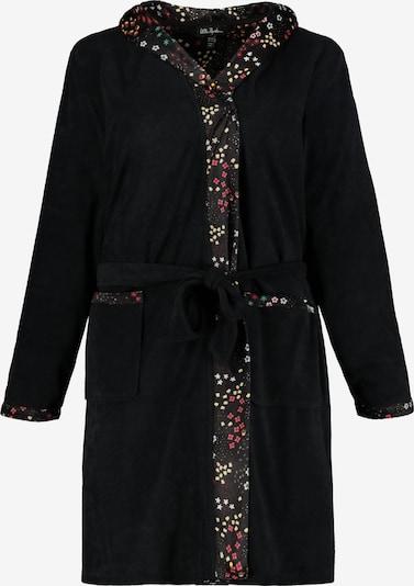 Ulla Popken Bademantel '727977' in schwarz, Produktansicht