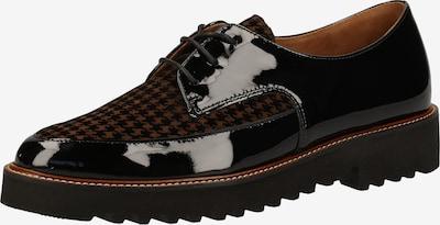 Paul Green Schnürschuh in braun / schwarz, Produktansicht