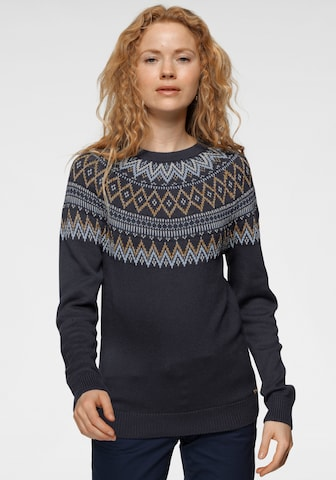 Tom Tailor Polo Team Sweater in Blue