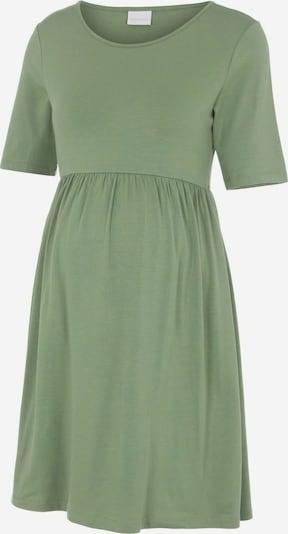 MAMALICIOUS Obleka 'Elnora'   zelena barva: Frontalni pogled