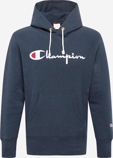 Bluză de molton Champion Reverse Weave pe bleumarin / roșu / alb, Vizualizare produs