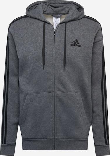 Sportinis džemperis iš ADIDAS PERFORMANCE, spalva – bazalto pilka / juoda, Prekių apžvalga