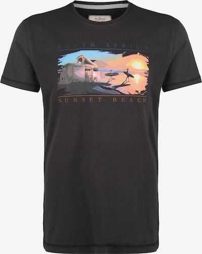 VAN ONE Shirt in de kleur Sinaasappel / Zwart, Productweergave