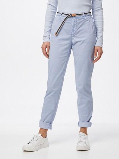 ESPRIT Pantalón chino en azul claro, Vista del modelo