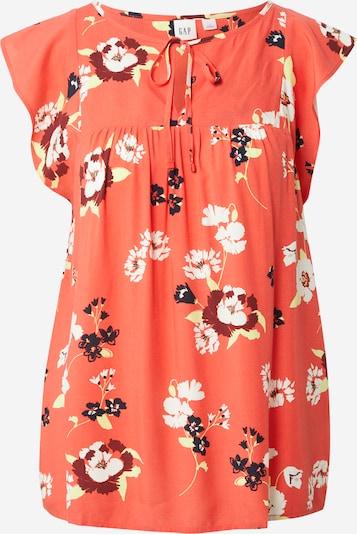 GAP Bluse in mischfarben / orangerot, Produktansicht