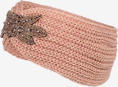 PIECES Лента за чело 'SANJA' в светлобежово / антично розово / черно, Преглед на продукта