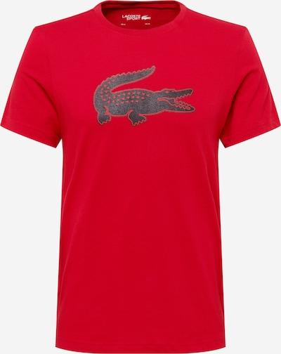 Lacoste Sport T-Shirt in anthrazit / burgunder, Produktansicht