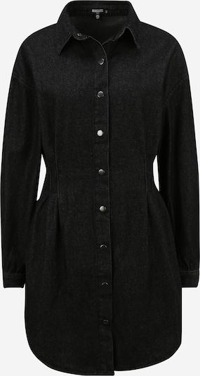 Missguided (Tall) Kleid in black denim, Produktansicht