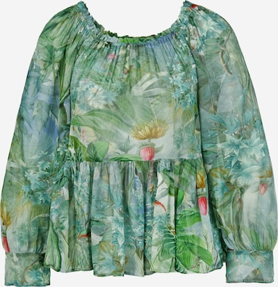 PRINCESS GOES HOLLYWOOD Carmenbluse 'Jungle' in mischfarben, Produktansicht