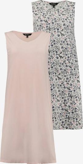 Ulla Popken Nachthemd in grau / mischfarben / rosa, Produktansicht