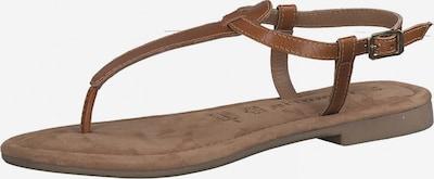 TAMARIS T-bar sandals in Cognac, Item view
