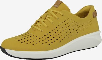 CLARKS Sneakers 'Un Rio Tie' in Mustard, Item view