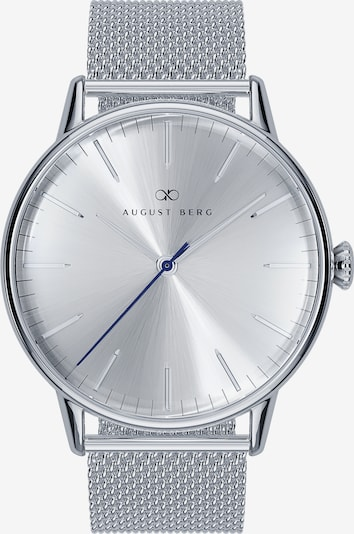 August Berg Uhr 'Serenity Simply' in silber, Produktansicht
