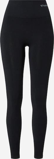 Hummel Sportbroek 'Tif' in de kleur Grijs / Zwart, Productweergave