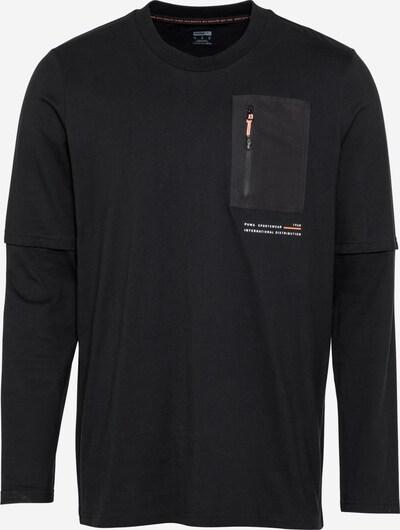 PUMA Shirt 'INTERSTELLAR' in de kleur Zwart / Wit, Productweergave