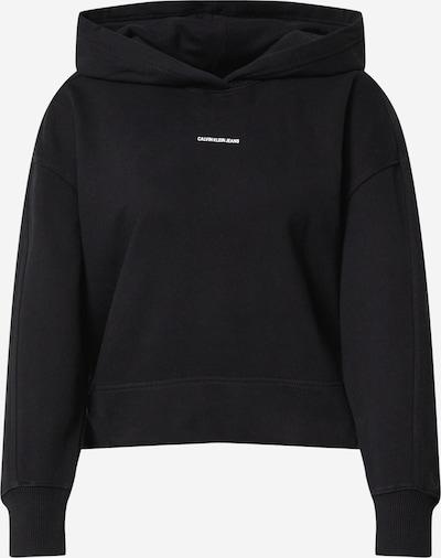 Calvin Klein Jeans Sportisks džemperis melns / balts, Preces skats