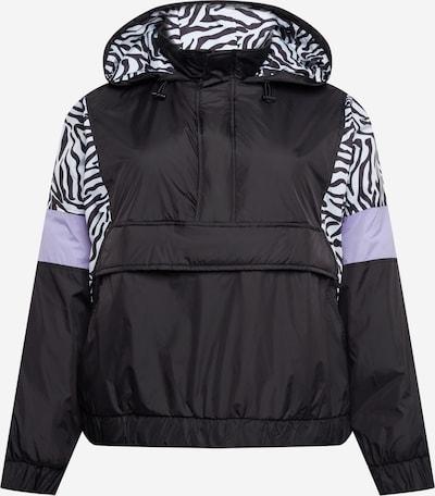 Urban Classics Curvy Prechodná bunda - azúrová / levanduľová / čierna, Produkt