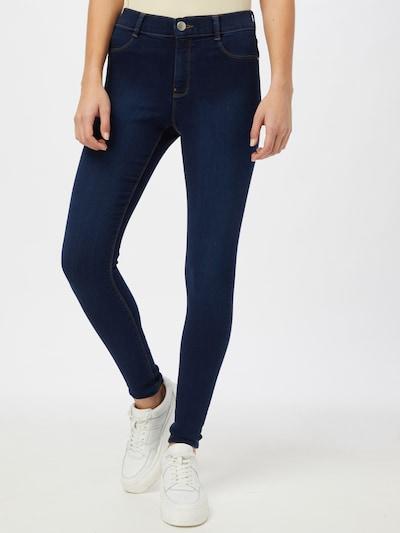 Dorothy Perkins Jeans in de kleur Blauw denim, Modelweergave