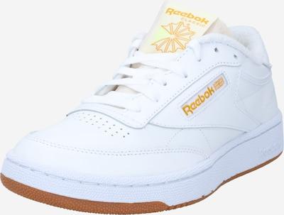 Reebok Classic Zemie brīvā laika apavi 'Club C 85' zeltaini dzeltens / balts, Preces skats