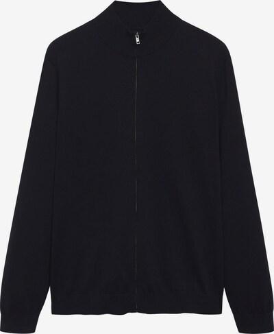 MANGO MAN Strickjacke 'TENC' in schwarz, Produktansicht