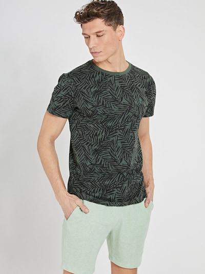 Shiwi Тениска в зелено / черно: Изглед отпред