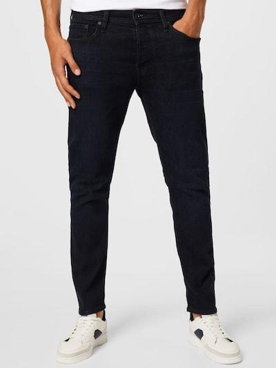 JACK & JONES Jeans 'MIKE' in black denim, Modelansicht