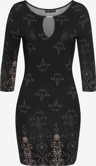 MELROSE Kleid in taupe / schwarz, Produktansicht