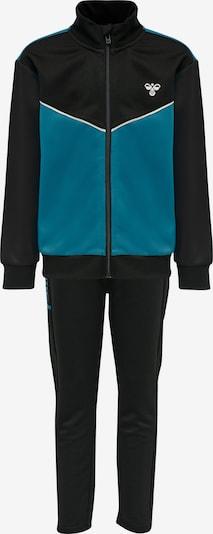 Hummel Trainingspak in de kleur Hemelsblauw / Zwart / Wit, Productweergave