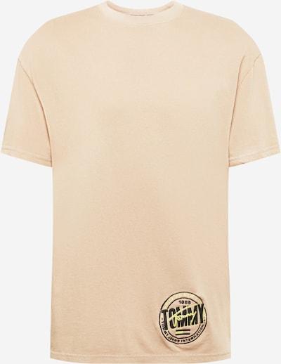 Tommy Jeans Paita värissä vaaleabeige / keltainen / musta: Näkymä edestä